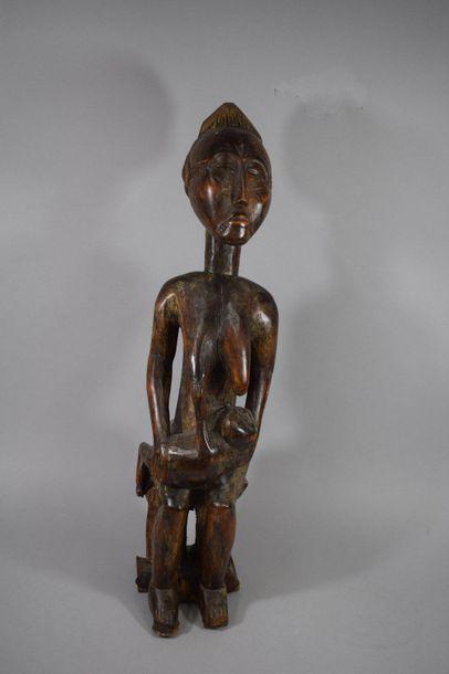 Maternité BAOULE, Côte d'Ivoire  Sculpture...