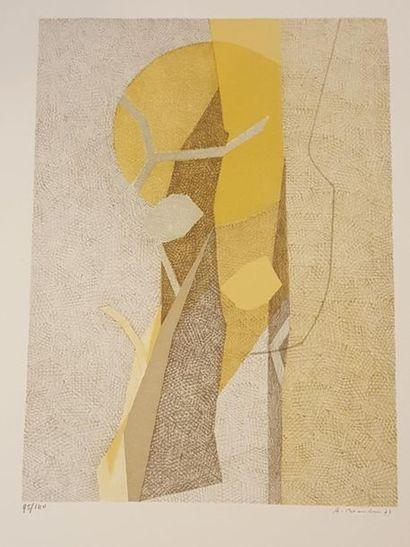 BEAUDIN André (1895-1979)  Composition, 73...