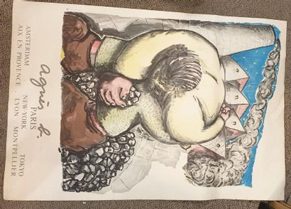 BLAIS Jean-Charles (né en 1956)  Affiche...