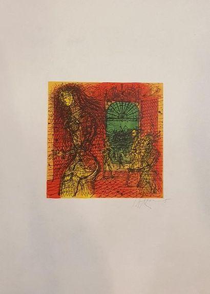 CARZOU Jean (1907-2000)  Horizon lointain,...