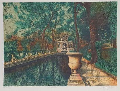 CARZOU Jean (1907-2000)  La fontaine Médicis,...