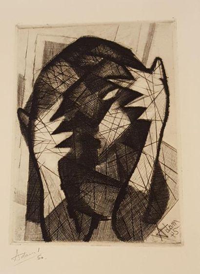 ADAM Henri Georges (1904-1967)  Femme à la...