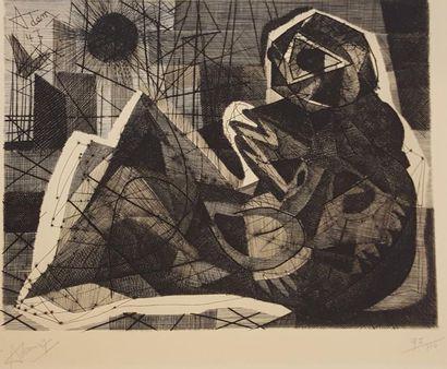 ADAM Henri Georges (1904-1967)  La Danaé,...