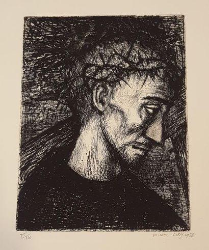 CIRY Michel (né en 1919)  Portement de croix,...