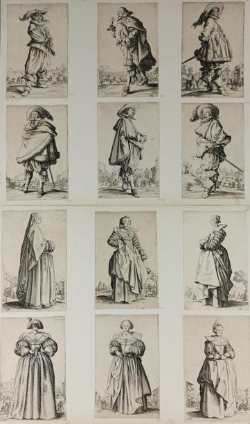 Jacques CALLOT (1592 - 1635)  La Noblesse...