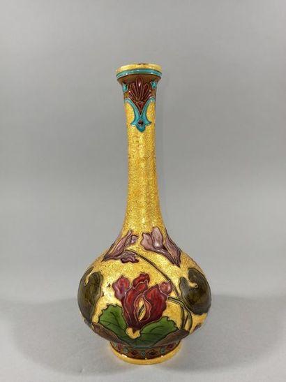 Paul MILET (1870-1930) - SEVRES  Vase en...