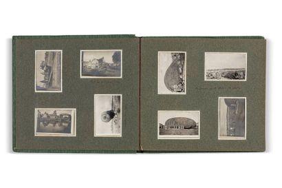 ENSEMBLE DE SEPT ALBUMS PHOTOGRAPHIQUES, circa 1900-1920, contenant plus de quatre...