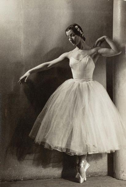 Laure ALBIN GUILLOT (1879-1962)  Danseuse...