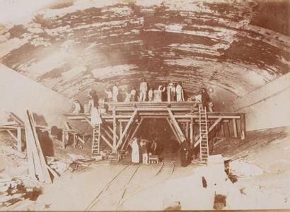 Charles MAINDRON (1861-1940). Construction du Chemin de Fer Métropolitain Municipal...