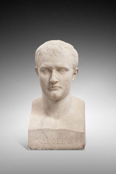 Antoine Denis CHAUDET (1763-1810), d'après.  L'Empereur Napoléon Ier en hermès,...