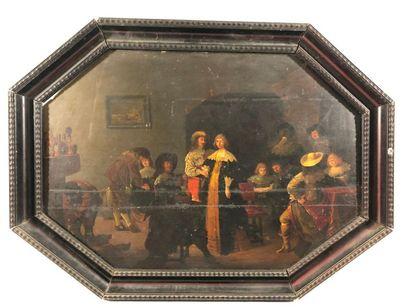 PALAMEDESZ Anthonie (Attribué à)  Delft,...