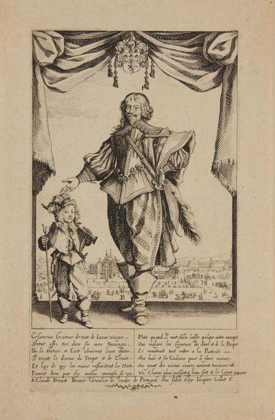 Jacques CALLOT (1592 - 1635)  Le portrait...