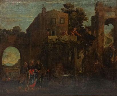 ÉCOLE FRANCAISE ou ITALIENNE du XVII siècle...