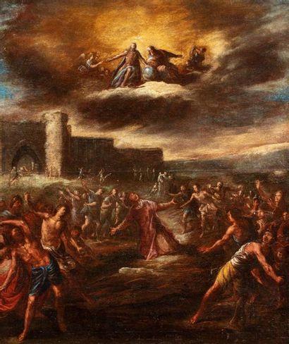 COMPAGNO Scipione (Attribué à)  (Naples 1624...