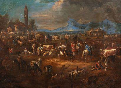 BREDAEL Jan Pieter (Attribué à)  Anvers 1629...