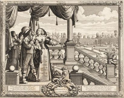 Abraham BOSSE (1602/04 - 1676)  LES CINQ...
