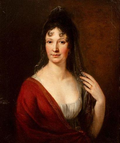 LEFEBVRE ROBERT (Attribué à)  Bayeux 1755...