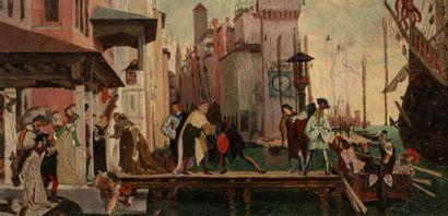 TISSOT James (Ecole de)  Nantes 1835 - Chenecey...