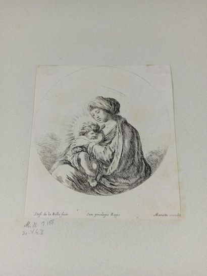 Stefano DELLA BELLA (1610 - 1664)  La Sainte...