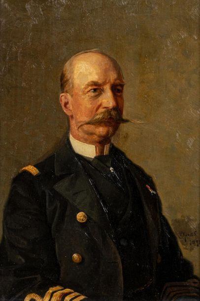 MØNSTED Peder Mørk (1859-1941).  Portrait...