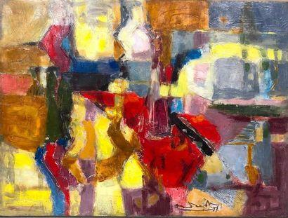 ANDREOU Constantin, 1917-2007,  Nature morte,...