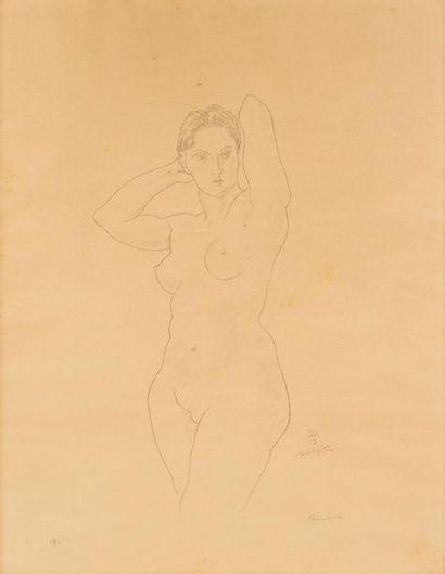 FOUJITA Léonard Tsuguharu, 1886-1968  Nu...
