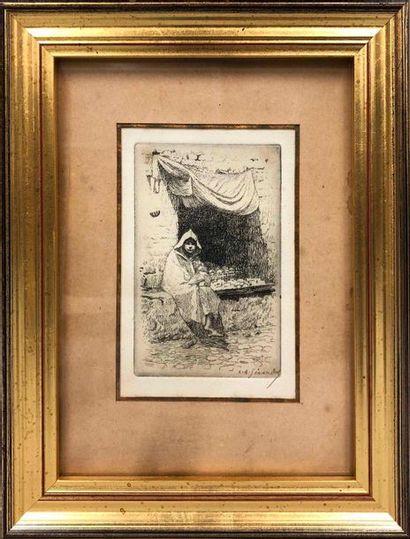 GIRARDOT Louis Auguste, 1856-1933,  Petite...