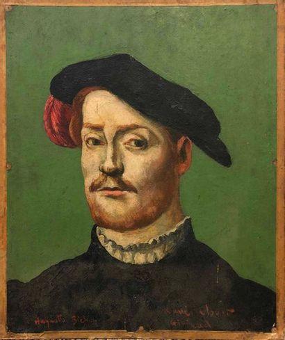 GIRIEUD Pierre, 1876-1948,  Portrait d'homme...