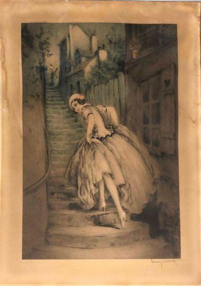 ICART Louis, 1888-1950,  Vieux Montmartre,...