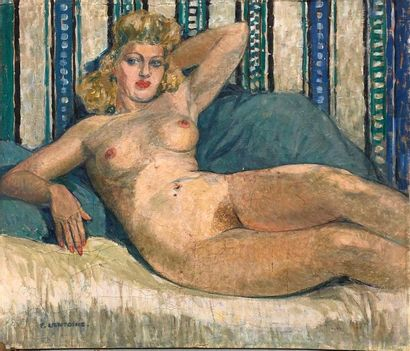 LANTOINE Fernand, 1876/78-c.1955,  Le modèle...