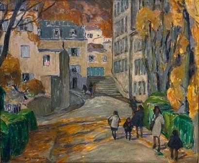 LANTOINE Fernand, 1876/78-c.1955,  Automne...
