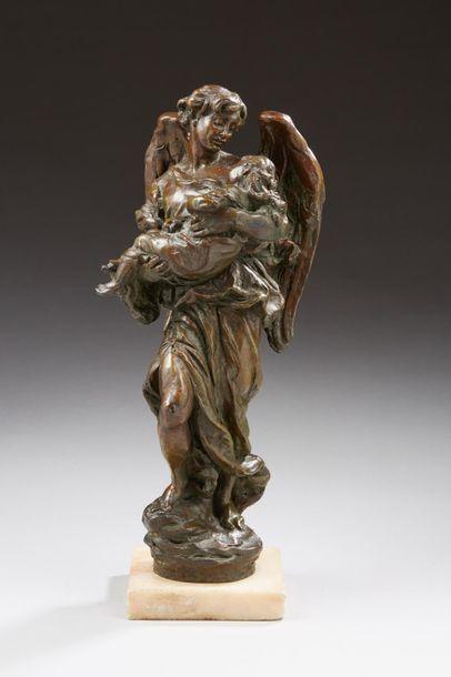 DALOU Aimé-Jules, 1838-1902  L'ange gardien...
