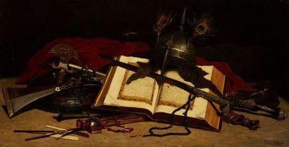 DELANOY Hippolyte Pierre, 1849-1899  Nature...