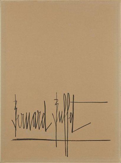 BUFFET Bernard, 1928-1999  Draughts, 1970  album comprising a suite of ten colour...