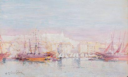 GALIEN-LALOUE Eugène, 1854-1941  Le port...