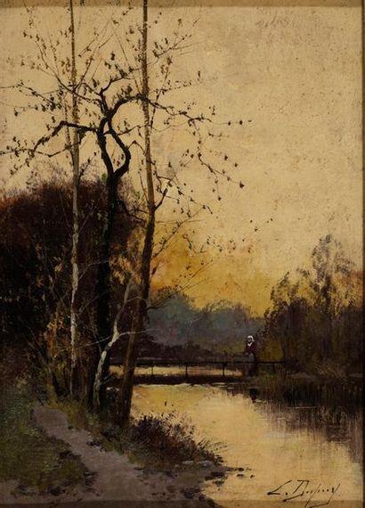 GALIEN-LALOUE Eugène, 1854-1941  Chemin au...