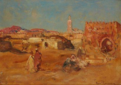 ROUSSEAU Henri Émilien, 1875-1933  Arabes...
