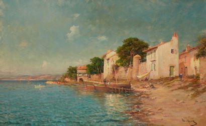 MALFROY, XIXe-XXe  Maisons de pêcheurs en...