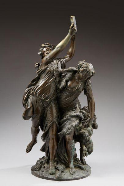 CLODION Michel, 1738-1814  Bacchantes et...