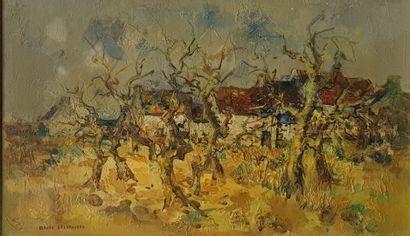 DESGRANGES Gérard, 1909-2006,  Paysage aux...