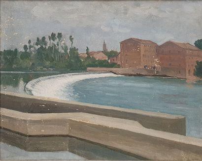 ZEZZOS Georges (1883-1959)  Montauban, le...