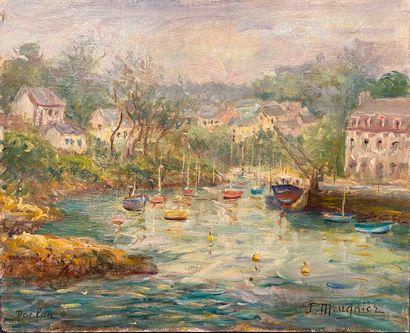 MEUGNIER Jacques (1951) Doëlan (Finistère)...
