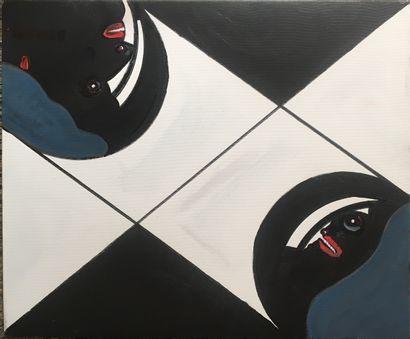 BERREBY Elie-Georges (né en 1933)  Composition...