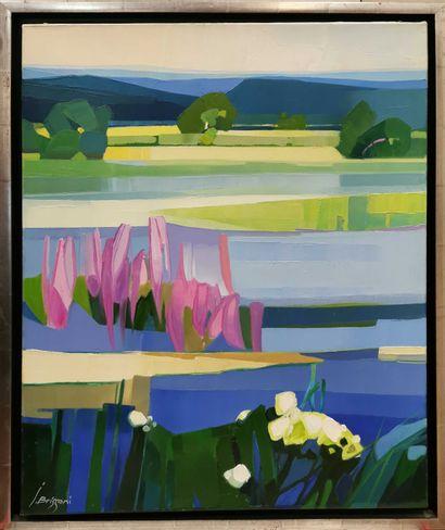 BRISSONI Jean (1932)  Le plateau du Doubs...