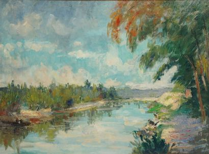 VAUMOUSSE Maurice, 1876-1961  L'Allier à...