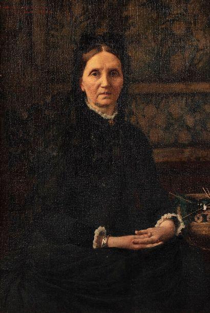 VON STETTEN Carl Ernest, 1857-1942  Portrait...