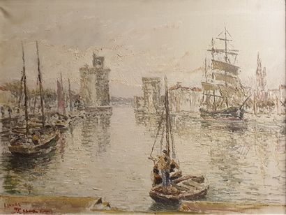 LAVAL Fernand, 1886-1966,  Le port de La...