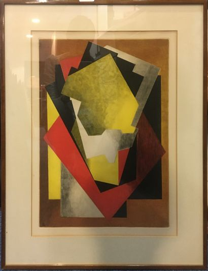 VILLON Jacques (1875-1963)  Lithographie...