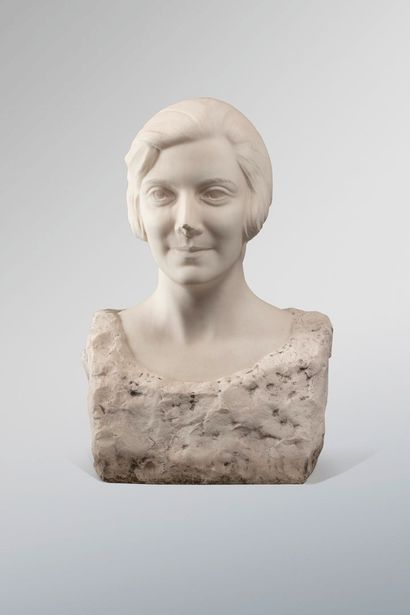 RAPHAËL-SCHWARTZ, 1884-1934  Buste de femme...