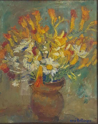 René Charles BELLANGER, 1895-1964  Bouquet...